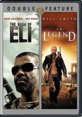 THE BOOK OF ELI + I AM LEGEND New Sealed 2 DVD Double Feature