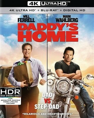 DADDY'S HOME New Sealed 4K Ultra HD UHD + Blu-ray