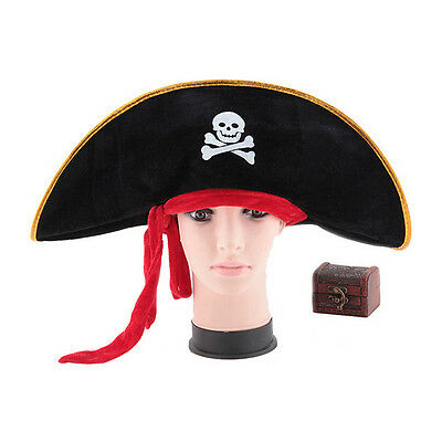 Pirate Hat Pirates of The Caribbean Pirate Captain Hat Halloween Costume Dt af897e889eec