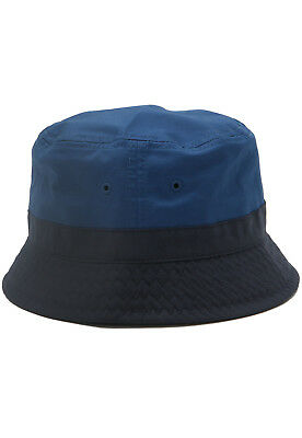Brand New Lacoste Marino Dark Navy Blue Cotton Stretch Bucket Hat Size M l 53650282aaa8