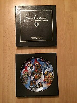 Warner Bros/Hanna Barbera 'Scooby's Christmas Dream' Collectors Plate,Ltd Edtn