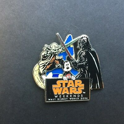 WDW - Star Wars Weekends 2006 - Logo Mickey Mouse Disney Pin 47156