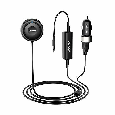 Mpow Bluetooth Receiver Car Hands-Free Car Kits/Bluetooth Aux Car Adapter MBR2