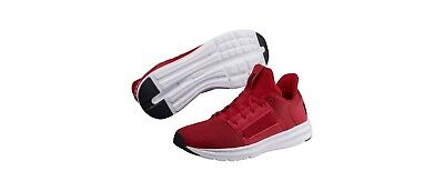 6b3c9a4c787 PUMA ENZO STREET Mens Red Mesh Athletic Lace Up Running Shoes 10 ...