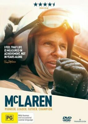 NEW McLaren DVD Free Shipping