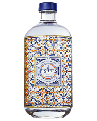Fishers London Dry Gin 500mL Spirits case of 6