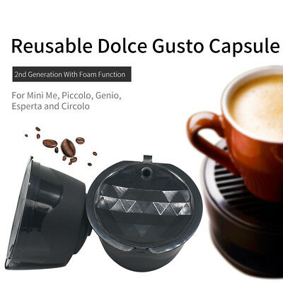 Coffee Filter Cup Refillable Coffee Capsules Pods For Dolce Gusto/Nescafe