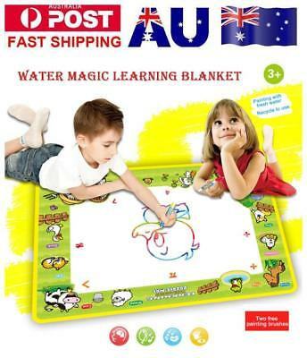 Drawing Water Pen Painting Magic Doodle Aquadoodle Mat Board Kid Boy Girl Toys