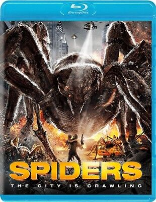 SPIDERS New Sealed Blu-ray 3D + Blu-ray
