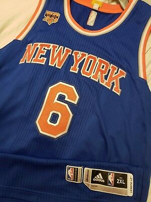 Kristaps Porzingis 2016-17 New York Knicks Authentic Road Game Jersey   NKN04689 2a2b92d39