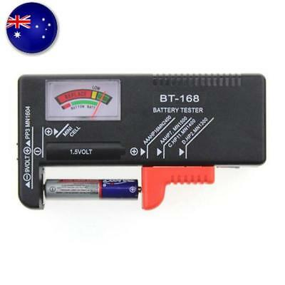 MN AAA AA C D Battery Tester BT-168D 1.5V 9V Button Cell Rechargeable