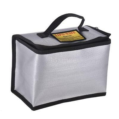Fireproof Explosionproof Lipo Battery Guard Safe Bag Charging Storage Box Y4L0