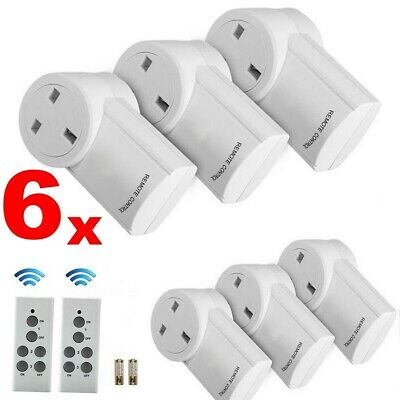Electrical Remote Control Socket Wireless Switch Mains UK Plug AC Power Outlet