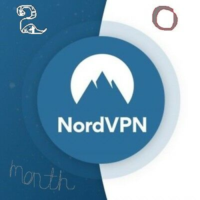 ✔Nord VPN 1 year subscription, LIFETIMEwarranty,instructions.setup support FAST