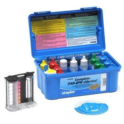 Taylor Technologies K-2006 Complete Chlorine Pool and Spa Water Test Kit
