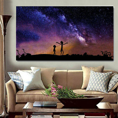 E2FC Paintings Poster LH Bar Home Office Colorful Funny Wall Decor Art Large