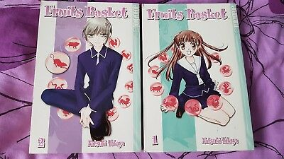 Bücher Mangas Fruits Basket 1-2