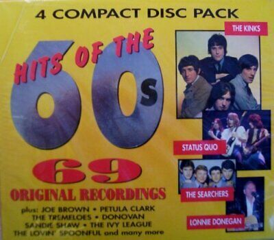 Various - Hits of the 60's - Various CD ACVG The Fast Free Shipping