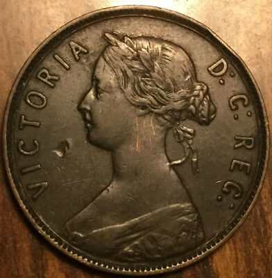1896 NEWFOUNDLAND LARGE 1 CENT - A great example!