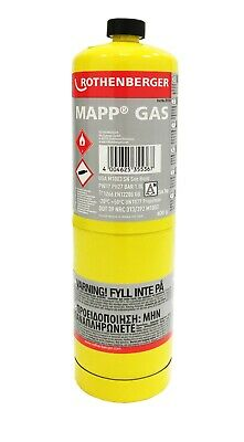 Rothenberger 3.5536 MAPP MAP Pro Gas Cylinder For SuperFire Torch