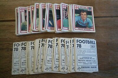 Panini Football 78 Stickers - VGC! - Pick & Choose The Stickers That You Need!