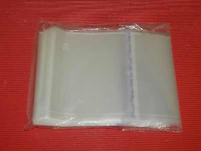 Japan 50 Resealable Outer Plastic Bag For Double Cd Jewel Case Size