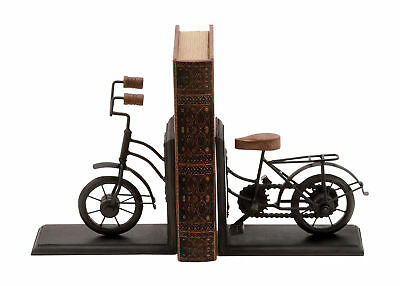 Cole & Grey Metal Book Ends Set of 2