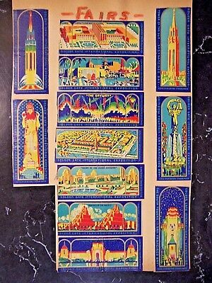 1930's New Haven Railroad Dining Car-Merchant's Limited Full Length Matchbook