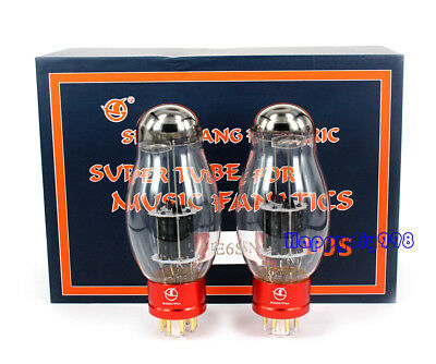 1 Matched pair Vacuum tube Shuguang WE6SN7 PLUS Replace 6SN7 for tube amplifier