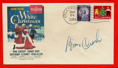 White Christmas Movie Bing Crosby Featured on Collector's Envelope *XS1374