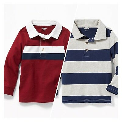 Polo Shirts / Jersey / Long Sleeve / Lot Set of 2 / Toddler Size 3T