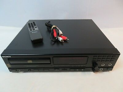 Sony CDP-K1A CD Player 2 Mic Input Karaoke System & Remote