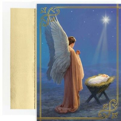 ANGEL BLESSINGS Holiday Collection 18 pack Boxed Christmas Cards 911000 2018