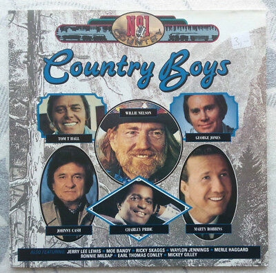 LP ** COUNTRY BOYS - NUMBER 1 COUNTRY ** Neuwertig  **  Johnny Cash W.Nelson
