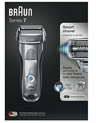 Braun Series 7 7893s Wet & Dry Electric Shaver for Men w/ Travel Case ES13 C