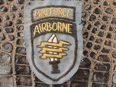 Theater Made Original Vietnam Mike Force Airborne US Army Patch