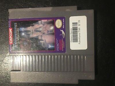 Adventures In The Magic Kingdom Nes Nintendo Video Game Tested & Working