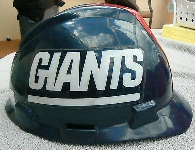 2ae6116d321 1998 Nfl New York Giants Official Hard Hat In Good Cond. Size Medium