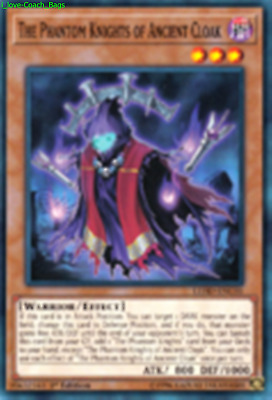 The Phantom Knights of Ancient Cloak LEHD-ENC01 X 1 Mint YUGIOH Effect Monster