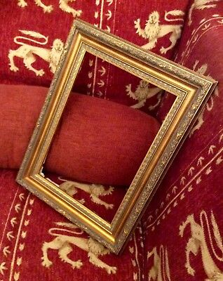 Vintage Gold Gilded Gilt Gesso & Wood Picture Frame,for Painting,Mirror,45by34,5