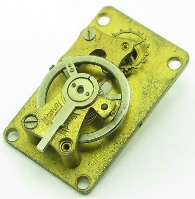 Platform Escapement - antique brass - parts for carriage clock