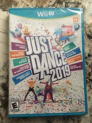 Just Dance 2019 Nintendo Wii U Brand New Includes 1 Month Access to 400+ Songs