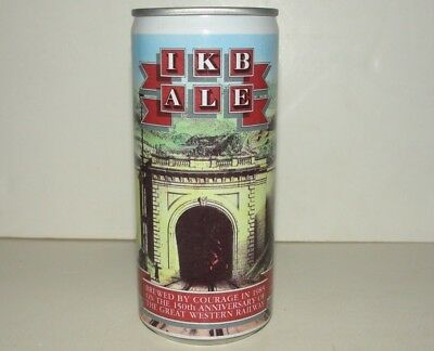 IKB Ale Beer Can Courage Great Western Railway MINT
