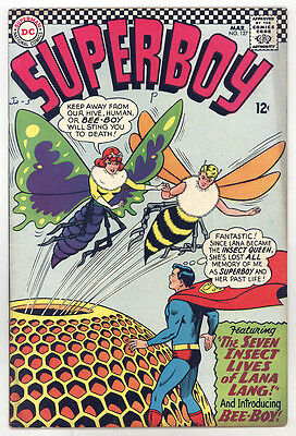 Superboy #127 FNVF Swan, Papp, Insect Queen
