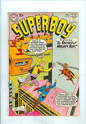 Superboy #85 VG+ Swan Papp Boltinoff Krypto, Mighty Boy, Abraham Lincoln, Luthor