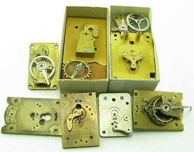 Platform Escapement parts - antique brass - for carriage clock