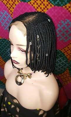 READY TO SHIP - Braided Lace Front Wig - Samatha