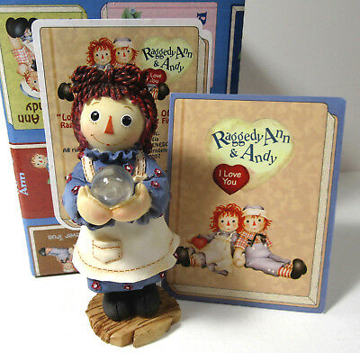 Ragedy Ann and Andy ~ LOOK ON THE BRIGHT SIDE ~ Enesco Figurine