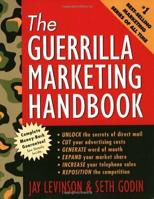 Guerrilla Marketing Handbook by Godin, Seth Paperback Book The Cheap Fast Free