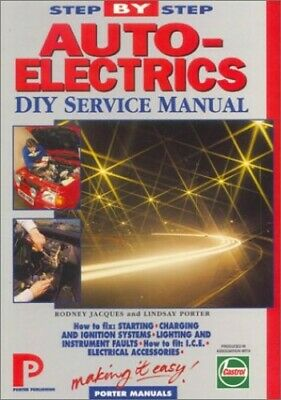 Auto-electrics DIY Service Manual (Porter Manuals) by Jacques, Rodney Paperback